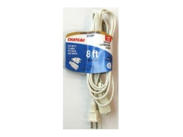 Cord Extension 8 ft white spt2