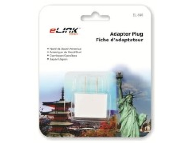 Foreign travel adaptor plug - N/S America carribean and japan