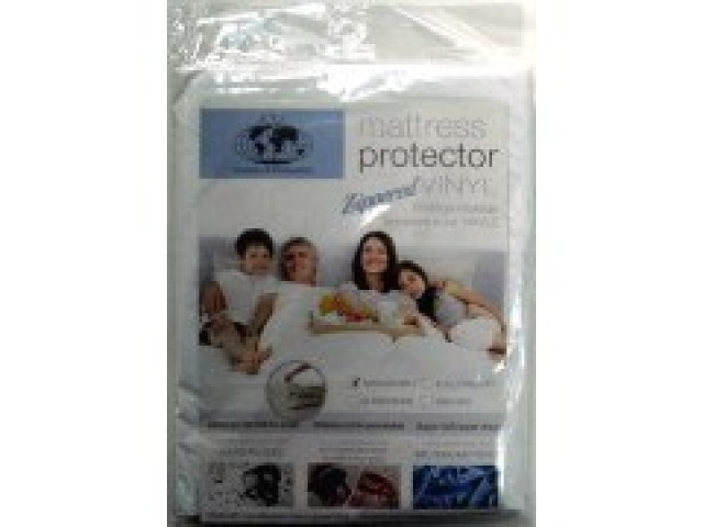 Zippered  Twin Size Mattress Covers