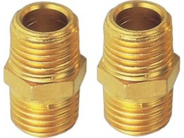 2 Pc Air Hose Connector Set