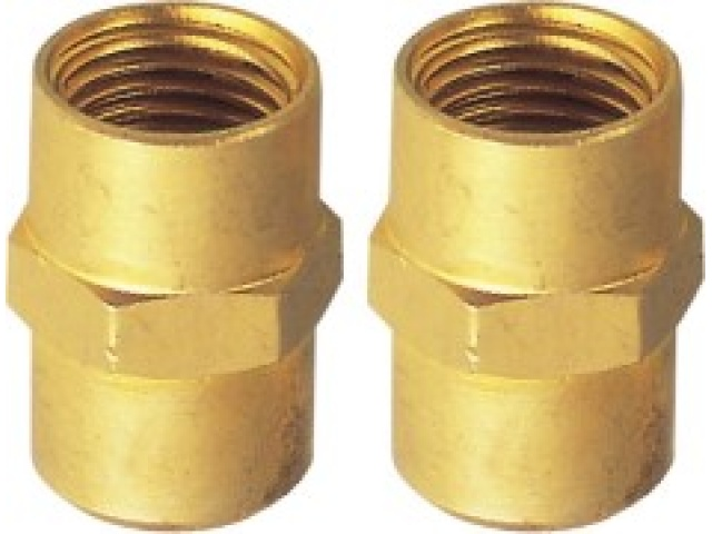 2 Pc Female Air Hose Connector Set