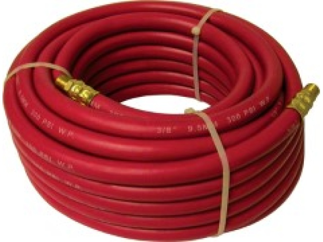 Air Hose 3/8 X 50\' Rubber Bolton Super Flex\