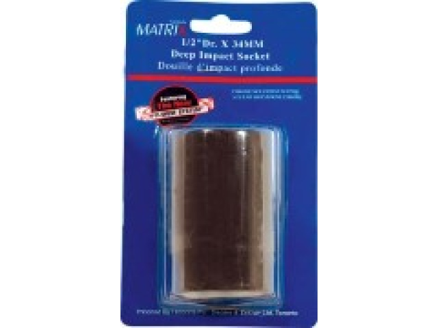 1/2 Dr Deep Impact Socket 34mm\