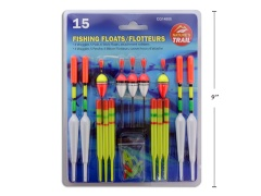 Fishing Floats 15 pc Assortment